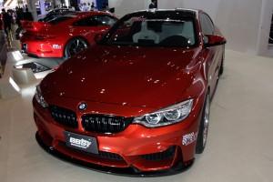 オートサロン2016「BMW M4」橋本コーポレーション流メイクアップ
