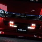 【画像】LEDメイクでライバルに差を付ける「ビーキャス」デモカー