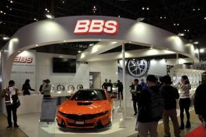 オートサロン2016「BBS」が2017年発売の新作モデルまで見せた