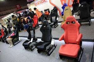 オートサロン2016 シートメーカー「ブリッド」は試座コーナーを設置