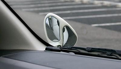 車内からのミラーの見え方