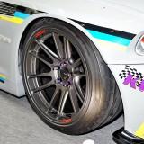【画像】オートサロン2016「エンケイ」は ディープフェイスの「GTC01RR」ホイールを展示