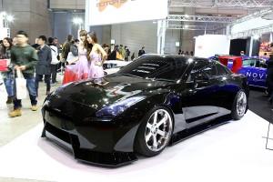 オートサロン2016「ラッシュモータースポーツ」が第2世代GT-Rと現行GT-Rと歴代モデル展示