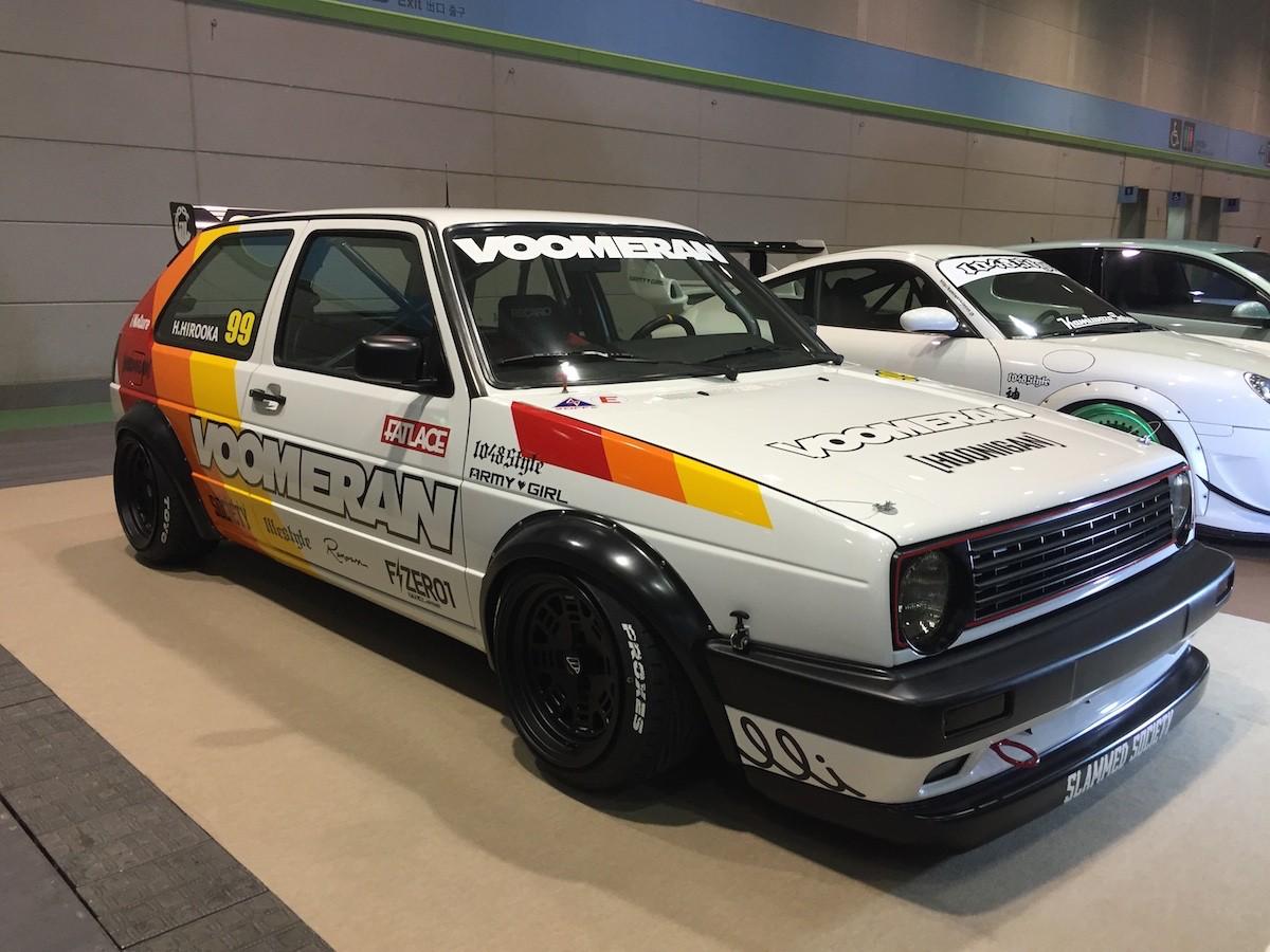 大阪オートメッセ「VW」カスタム&チューンのテクニック
