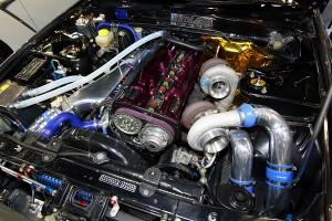 【見逃すな!】大阪オートメッセ唯一の日産R32スカイラインGT-Rが6A館にある!