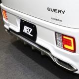 【画像】【大阪オートメッセ】新型エブリイ・ワゴン&バン用  エアロ&テールがライツから登場!