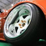 【画像】大阪オートメッセ「タケマルファクトリー」S14シルビアの大胆メイク!