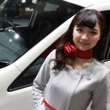 【画像】大阪オートメッセ キレイな日産の「おねえさん」は好きですか?