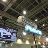 【画像】大阪オートメッセ セダンにベストマッチ「レイズ・ブラックフリートV205C」