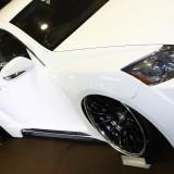【画像】大阪オートメッセ「モードパルファム」のド迫力のワイドボディキットに注目!