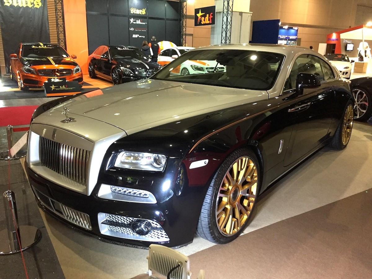 Rolls-Roys Wraith
