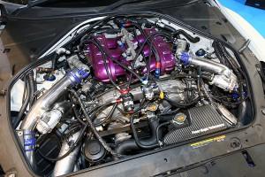 大阪オートメッセ 日本最速の日産R35GT-Rは1100psのモンスター!