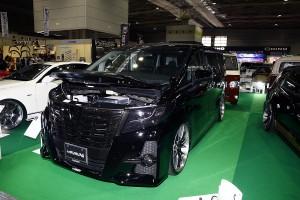 大阪オートメッセ「V-VISION」の車種もセンスも幅広いカスタム技術