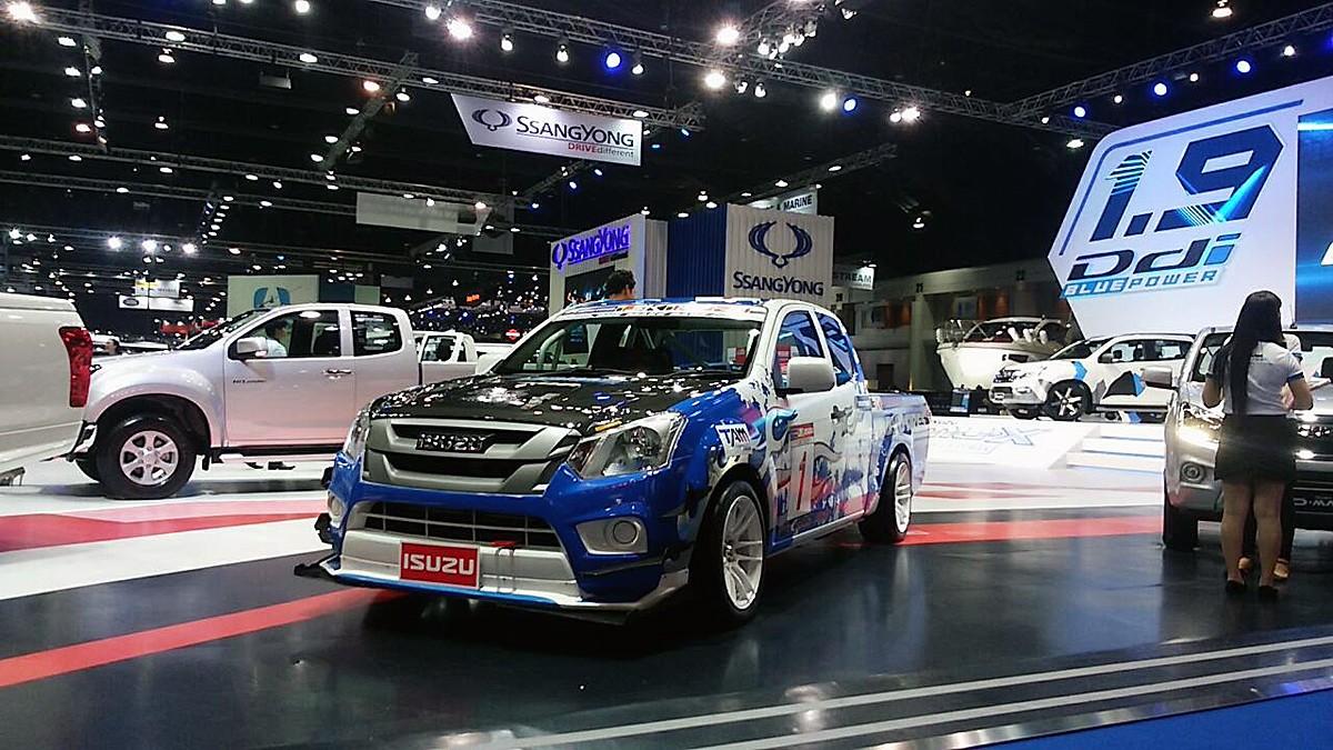 【速報】レアなクルマのカスタムカーが並ぶバンコク国際モーターショー