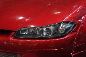 日産「S15シルビア」のヘッドライトカバーだけを新品に交換!