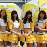 """【画像】スーパーGT2016開幕「""""最新""""レースクイーン祭り!」"""
