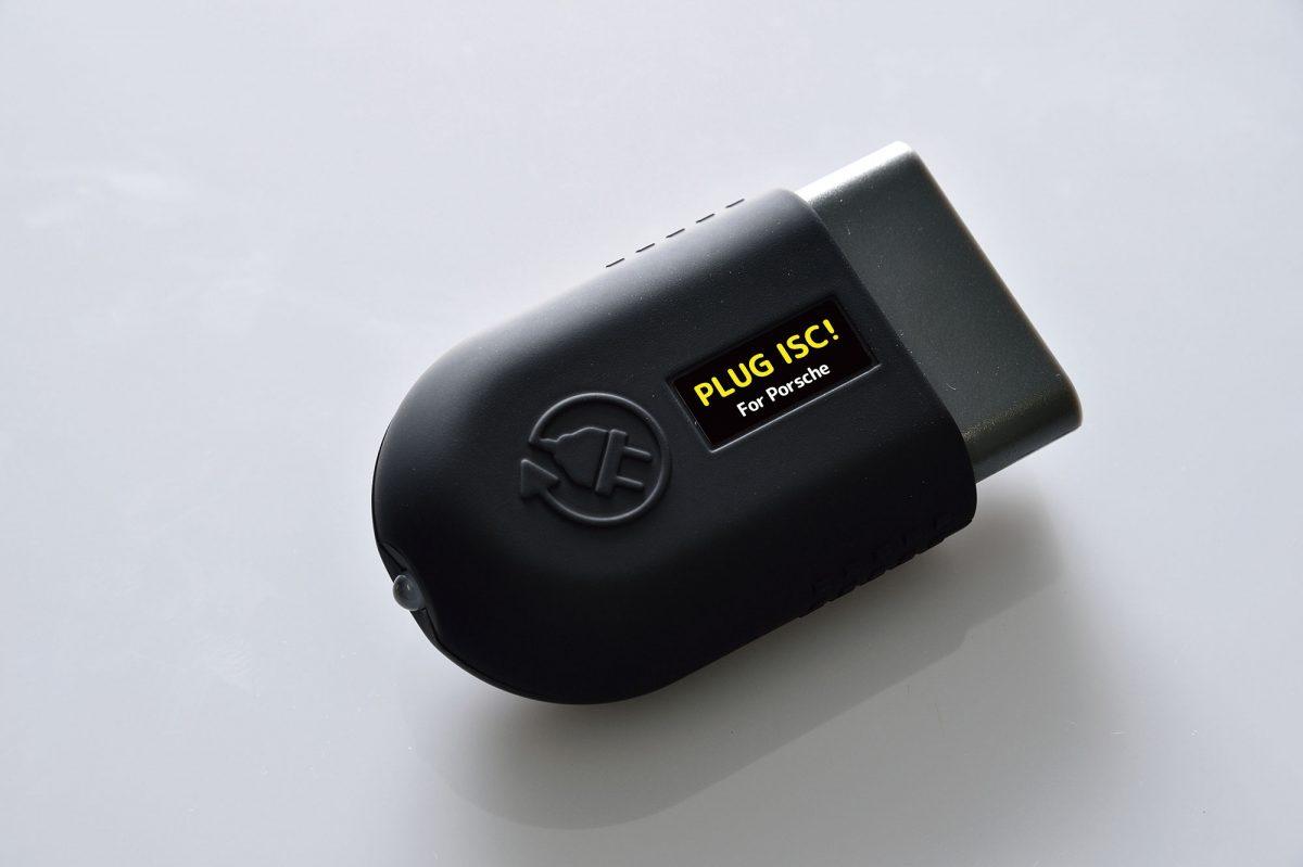 ポルシェ991(991型)、ボクスター(981型)、ケイマン(981c型)用「PLUG ISC!」は¥25,000。税別