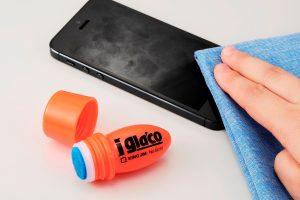 モニターの指紋が付きにくくなる「iガラコ」。スマホ用ですが・・・