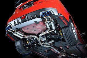 「ROWEN」がスバル『WRX』S4&STI用車検対応マフラーのリリース開始