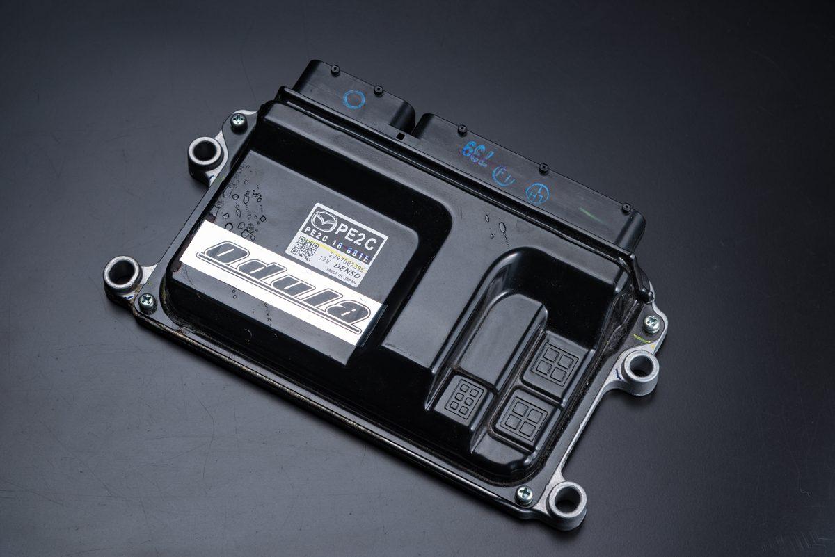 CPUは車検対応品。スピードリミットカット、燃料や点火時期のリセッティグにより最適な環境に進化。レスポンスアップと同時にトルク&パワーを増強を見込める