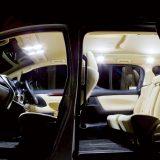 174灯の高品質LEDで室内を照らす『ジュエルLEDルームランプセット』