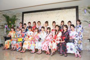 日本を代表する「レースクイーン」が浴衣姿で登場!