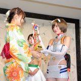 【画像】日本を代表する「レースクイーン」が浴衣姿で登場!