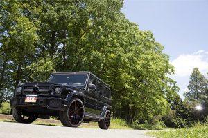 750万円超の「ドライカーボンパーツ」を纏うAMG G63