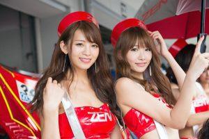 S-GT第6戦・GT-Rの牙城を破った「ZENT CERUMO RC F」【レースクィーン画像集】