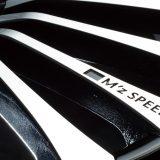 【画像】VIPカーの足元際立つ2タイプの「エムズスピード」ホイール
