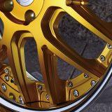 【画像】下地塗りさえ超贅沢な「リッチゴールド」ホイール