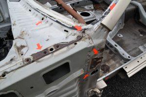 恐怖!R32スカイラインGT-Rを蝕む「錆」の真実