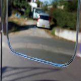 【画像】【DIY】ガラスとボディのすき間をモールで埋めて車格アップ!