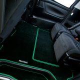 【画像】シートレールを被って高級感のある車内を実現する『セカンドラグマット』