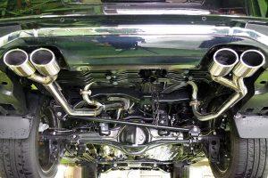 3種のルックスが選べる「スルガスピード」LX570用マフラー