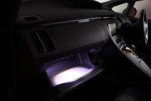 【DIY】グローブボックスを社外LEDで明るさアップ