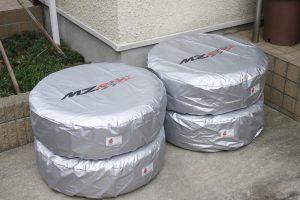 「MZレーシング」が防炎生地採用『タイヤカバー』のリリースを開始【プレゼント】