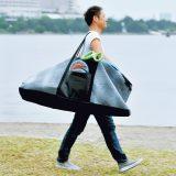 【画像】荷物をまとめてそのまま運べるラゲッジバッグ