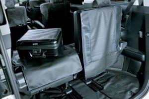 小傷から車内を守る「シートバック・プロテクションカバー」