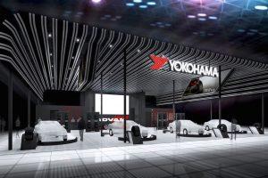 「横浜ゴム」はオートサロンで『ADVAN』を全面アピール!