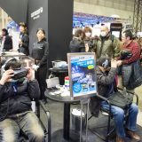 【画像】『サイバーナビ』運転支援機能をVRで体験【東京オートサロン2017】
