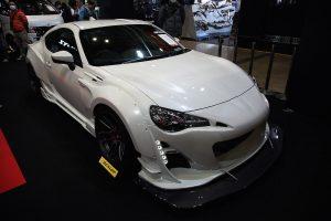 ブリッツがトヨタ86後期型用ターボキット&エアロを開発!【東京オートサロン2017】