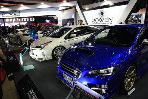 ROWEN新作ボディキットは50プリウスとWRX【東京オートサロン2017】
