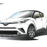 【画像】SCOOP!「トヨタC-HR」未公開エアロパーツを先取り!!