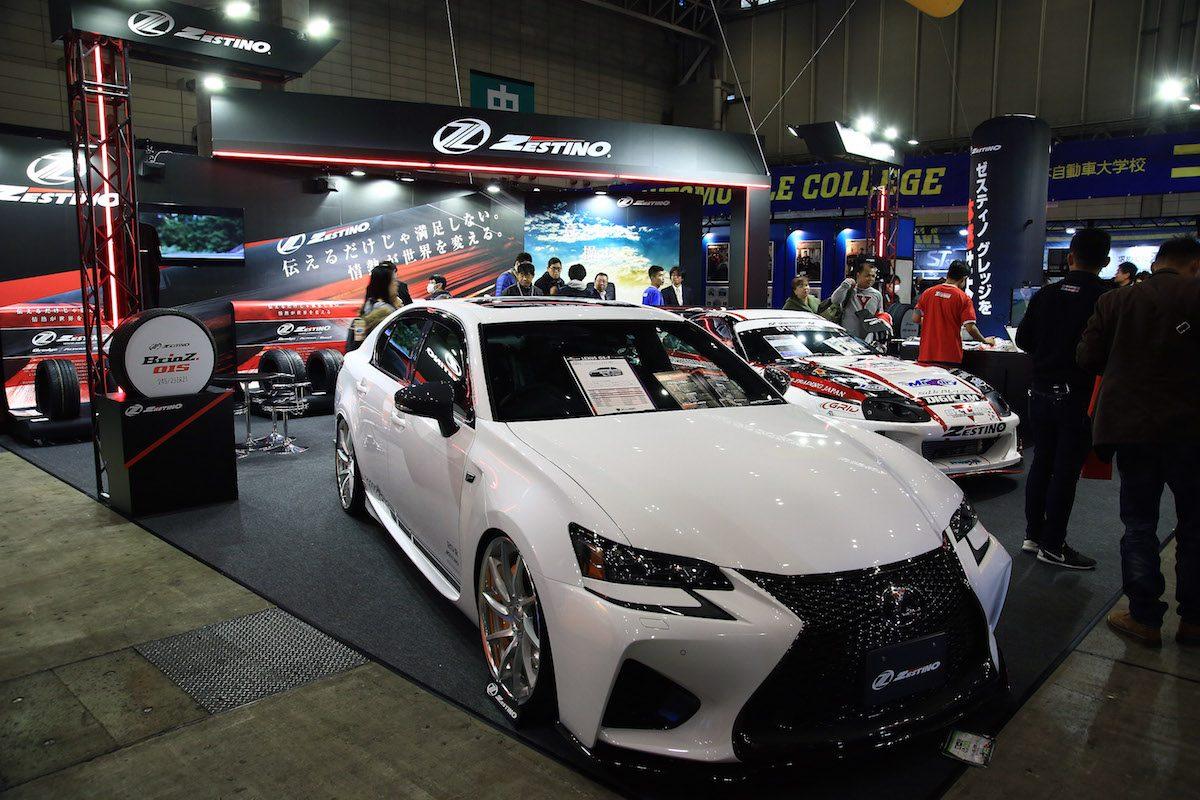 日本人設計の輸入スポーツタイヤ 『ゼスティノ』がリリース開始【東京オートサロン2017】
