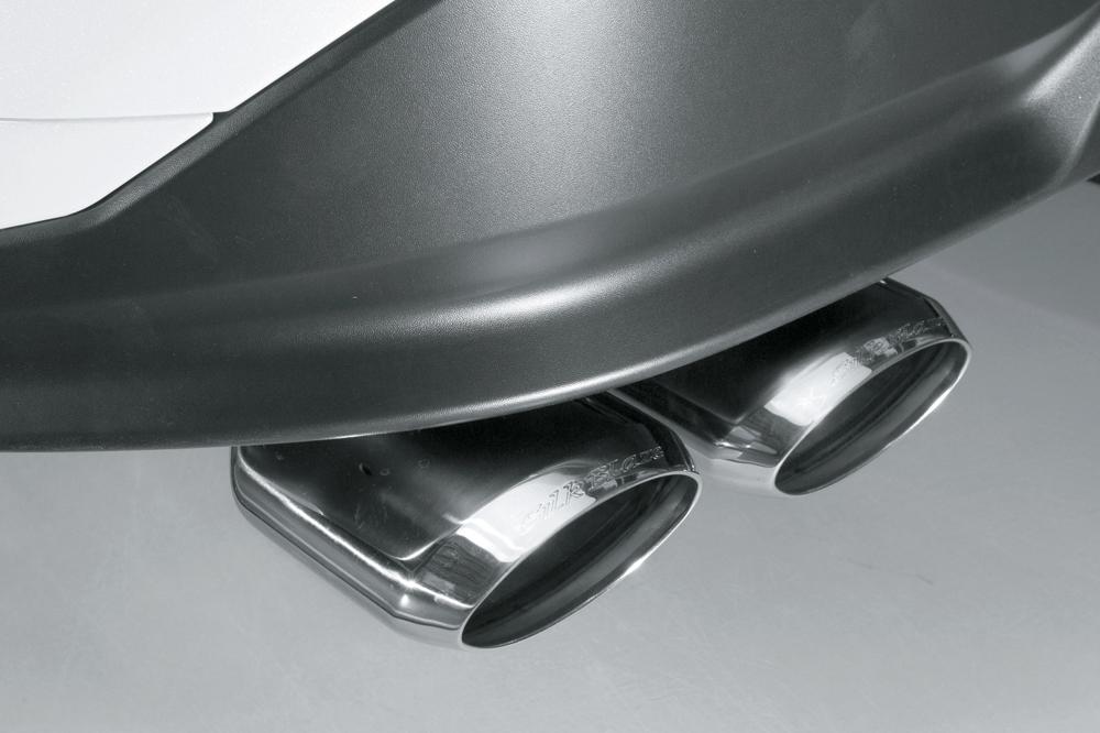 純正バンパー専用に設計した50プリウス用スポーツマフラー
