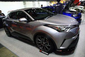 激化する「トヨタC-HR」チューニングの方向性を占う【東京オートサロン2017】