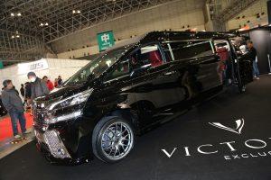 全長7mのヴェルファイアが圧巻! 新生『VICTOREX』【東京オートサロン2017】