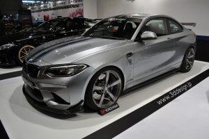 BMW M2用のエアロから機能パーツまでを一挙提案【東京オートサロン2017】