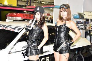「逮捕しちゃうぞ!」トヨタ・マジェスタ「パトカー」仕様が登場!【東京オートサロン2017】